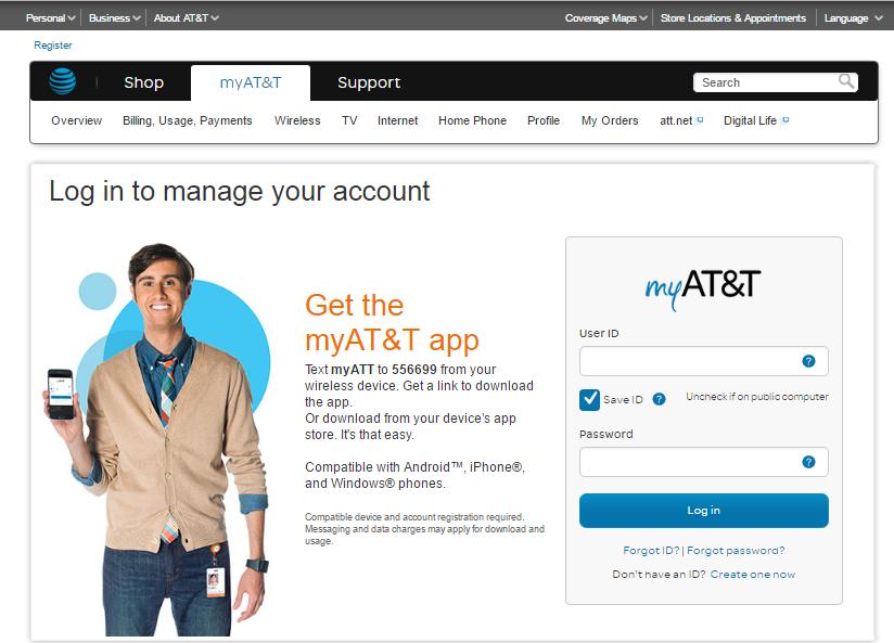 AT&T Login