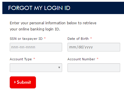 Arvest Online Banking Forgot Password