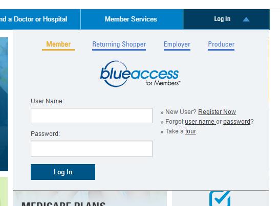 BlueCross BlueShield of Illinois Account Bill Payment