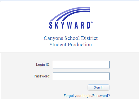 Canyons School District Skyward Bill Payment