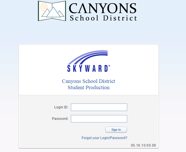Canyons School District Skyward Login