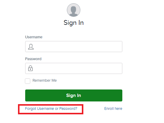 Capital One Credit Card Forgot Password 2