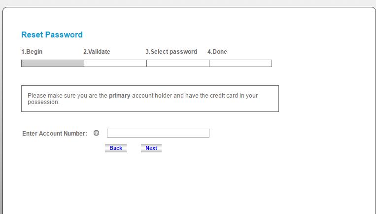 Chevron Texaco Credit Card Forgot Password