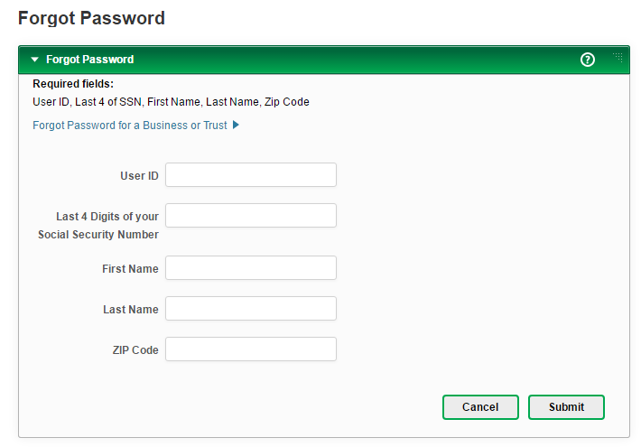 Costal Federal Credit Union Forgot Password 3