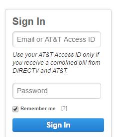 DirecTV Account Bill Payment