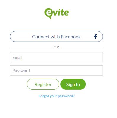 Evite Make Payment