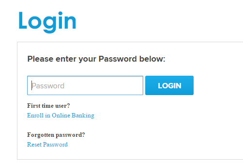 First Commerce Credit Union Forgot Password
