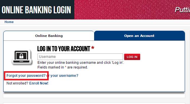 First Convenience Bank Forgot Password 3