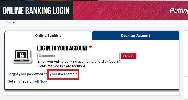 First Convenience Bank Forgot Password