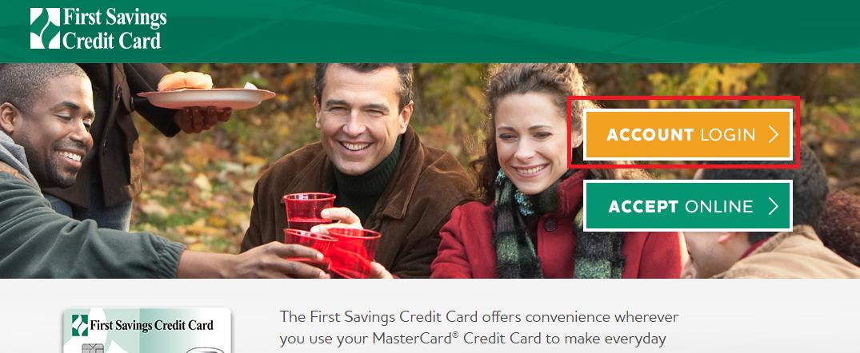 First Savings Credit Card Login