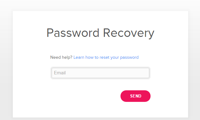 Fit bit Account Forgot Password