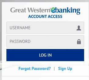 Great Western Bank Online Banking Bill Payment