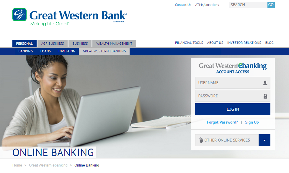 Great Western Bank Online Banking Login