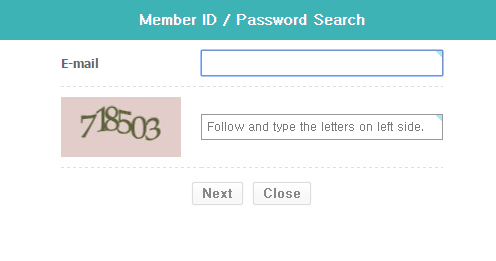 IDIS Forgot Password 2