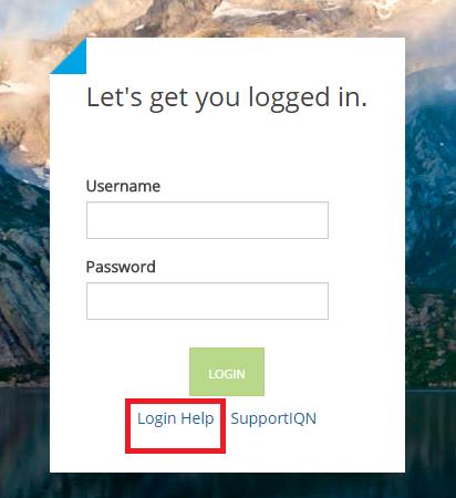 IQNavigator Forgot Password
