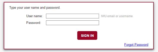 IWU Portal Make Payment