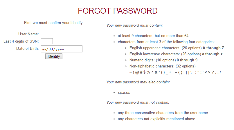IWU Portal Forgot Password 2