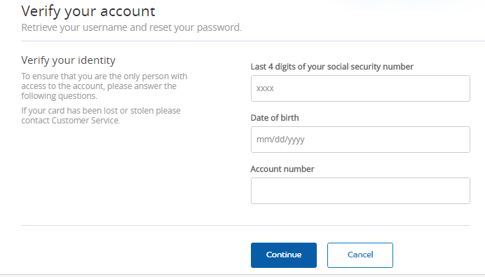 Jet Blue Credit Card Forgot Password 2