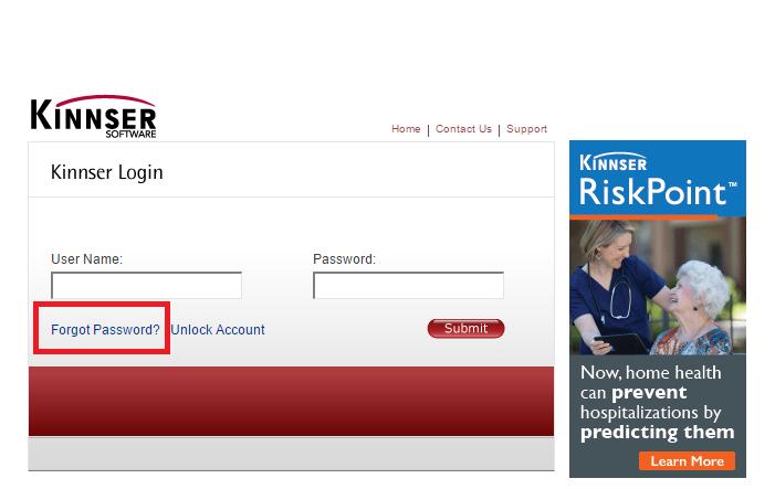 Kinnser Software Account Make Payment