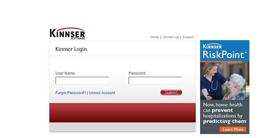 Kinnser Software Account Login