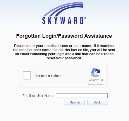 Levy County Schools Skyward Forgot Password