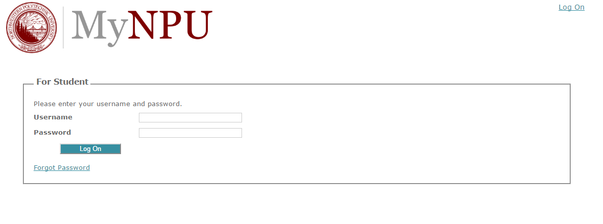 NPU Student Portal Login