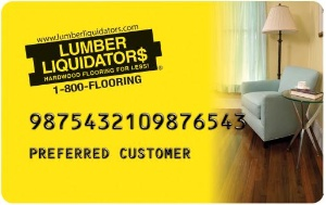 Lumber Liquidators Credit Card Logo