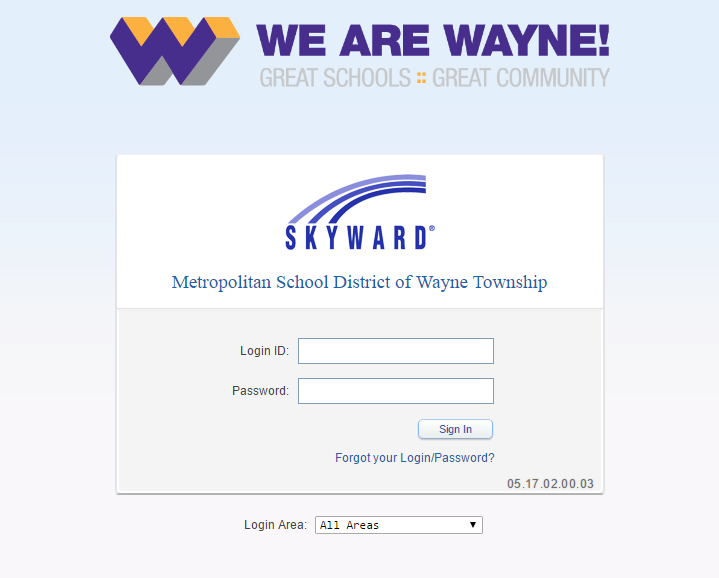 MSD of Wayne Township Skyward Login