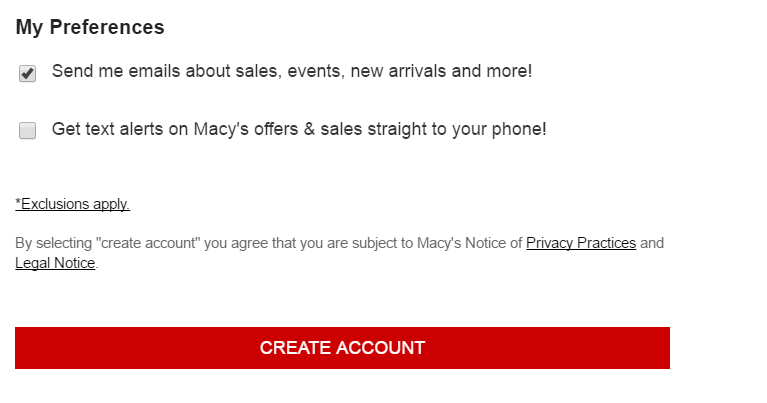 Macy's Credit Card Sign Up2