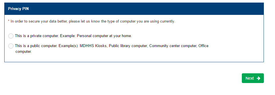Michigan DHS Account Forgot Password 2