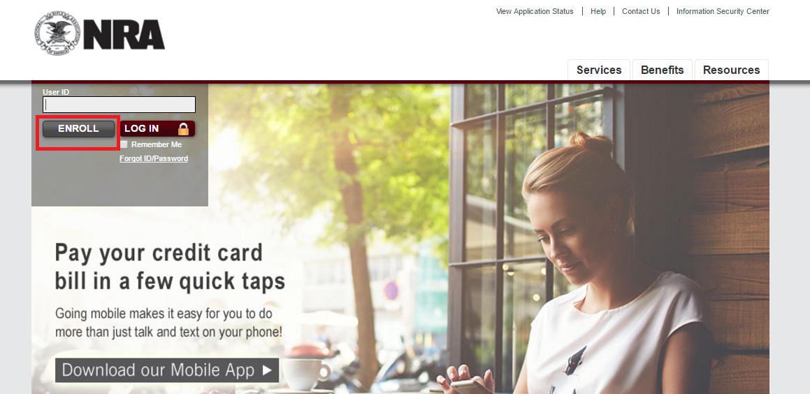 NRA Credit Card Enroll