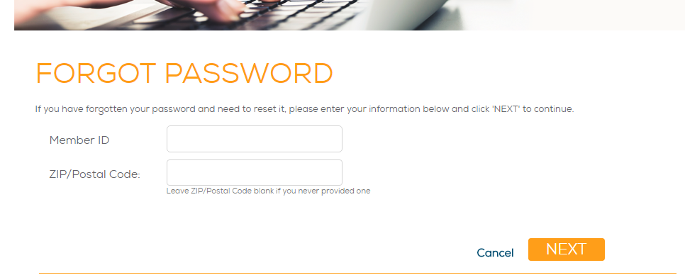 NetZero Message Center Forgot Password