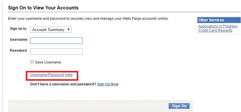 Northern Tool Credit Card Forgot Password