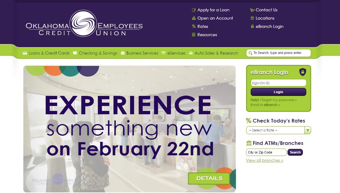 OCEU Account Oklahoma Employees Credit Union Login