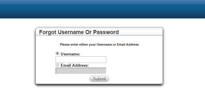 PHM HAC Forgot Password