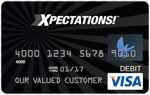 How to Login to your PLS Xpectations Card