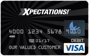 PLS Xpectations Login Visa Prepaid Card