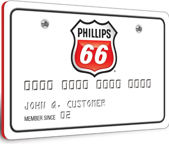 Phillips 66 Credit Card Logo
