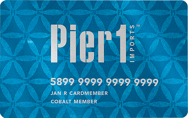 Pier One Credit Card Logo