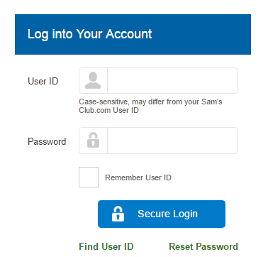 Sam's Club Credit Card Bill Payment
