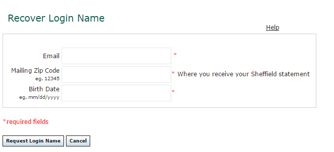 Sheffield Financial Account Forgot Password 2