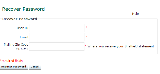 Sheffield Financial Account Forgot Password 4