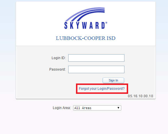 Skyward Lubbock-Cooper ISD Bill Payment