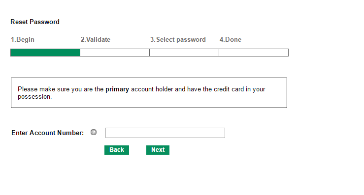 Stein Mart Credit Card Forgot Password