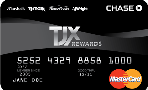 TJ Maxx Credit Card Logo
