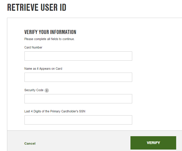 Tractor Supply Credit Card Forgot Password 4