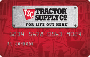 Tractor Supply Credit Card Logo