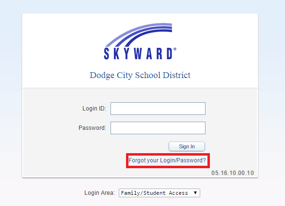 USD 443 Skyward Bill Payment