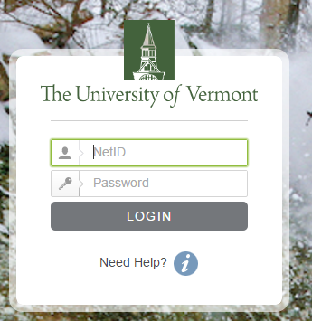 UVM University of Vermont Bill Payment