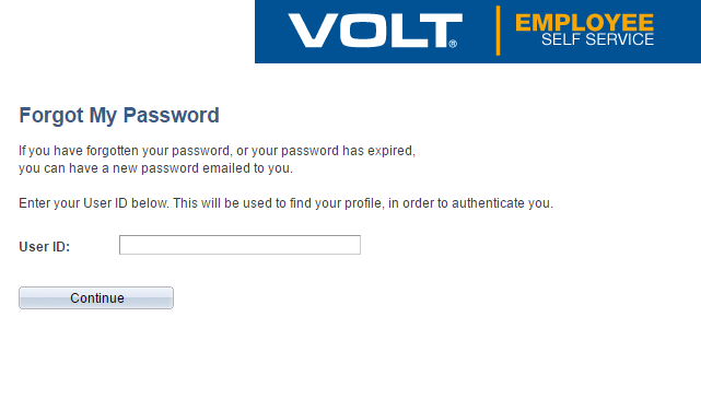 ESS (Employee Self Service) Forgot Password 2